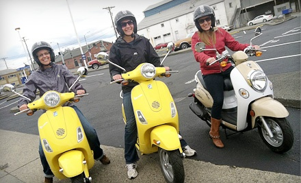 NW Motor Scooters: 3-Hour Scooter Adventure - NW Motor Scooters in Tacoma