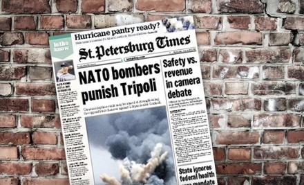 St. Petersburg Times - St. Petersburg Times in