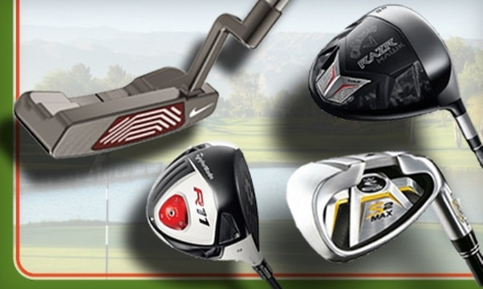 GolfClubs.com - Portland: $25 for $50 Worth of In-Store Golf Gear and Apparel at GolfClubs.com