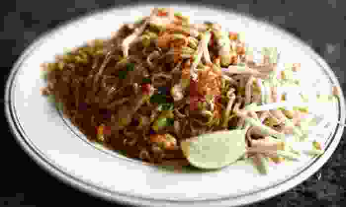 Thai Pan - Multiple Locations: Thai Fare for BYOB Dinner or Lunch at Thai Pan (Half Off). Three Options Available.