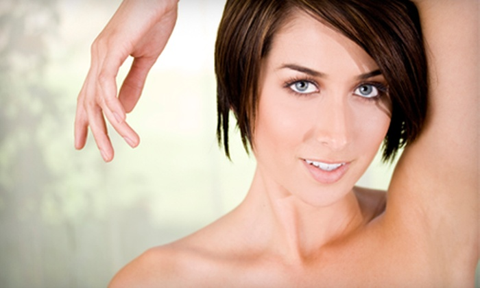 Cosmedic Laser Spas - Melrose Park: $299 for One Year of Laser Hair-Removal Sessions on Three Areas at Cosmedic Laser Spas in Melrose Park (Up to $3,800 Value)