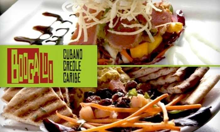 Boogaloo - Maplewood: $13 for $30 Worth of Mojitos, Tapas, and Cuban Cuisine at Boogaloo