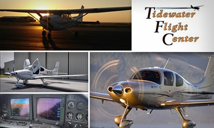 Tidewater Flight Center - Pleasant Grove West: $89 for a One-Hour Discovery Flight at Tidewater Flight Center ($199 Value)