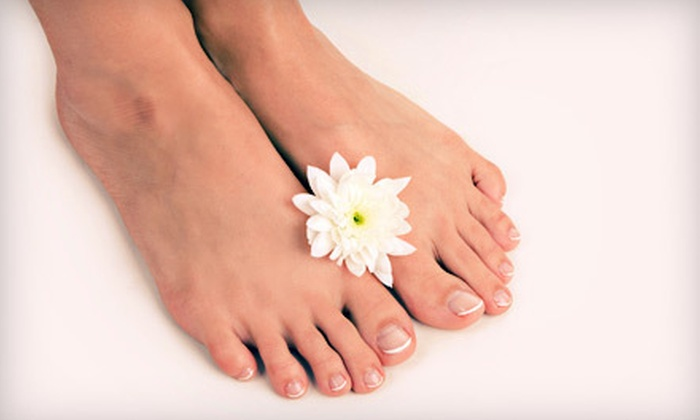 La Femme Beauty Salon & Spa - Crown Heights: $199 for Laser Nail-Fungus Removal for Both Feet at La Femme Beauty Salon & Spa in Brooklyn ($600 Value)