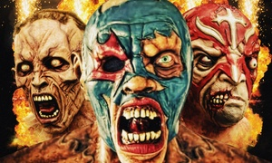 Zombie Wrestling: Zombie Wrestling on Friday, October 30, at 8 p.m.
