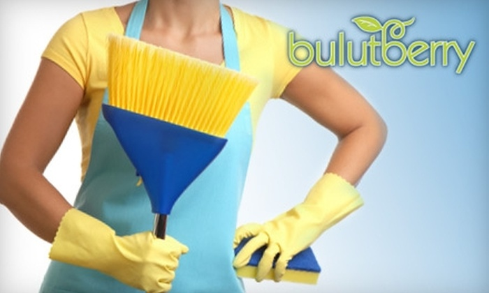 Bulutberry Cleaning Services - Mount Pleasant: $40 for Two Man Hours of Professional House Cleaning from Bulutberry Cleaning Services (Up to $120 Value)