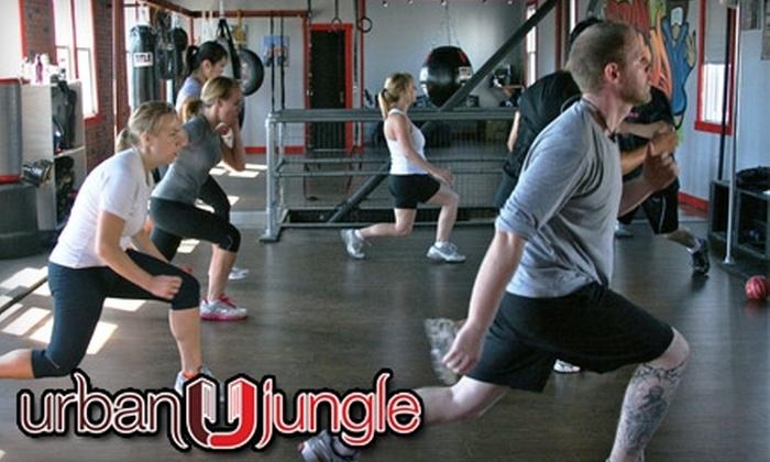 Urban Jungle - Maspeth: Boot Camp and Thai Boxing at Urban Jungle. Choose Between Two Options.