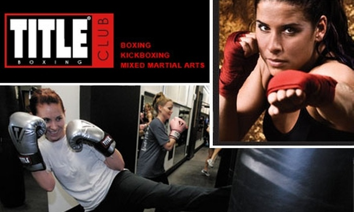 TITLE Boxing Club - Kansas City: $40 for a One-Month Membership, Introductory Boxing Kit, and Half Off Enrollment at TITLE Boxing Club (Up to $200 Value)