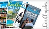 """""""Los Angeles"""" Magazine: $5 for a One-Year Subscription to """"Los Angeles"""" Magazine ($9.95 Value)"""