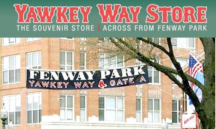 Yawkey Way - Boston: $13 for $25 Worth of Red Sox Apparel