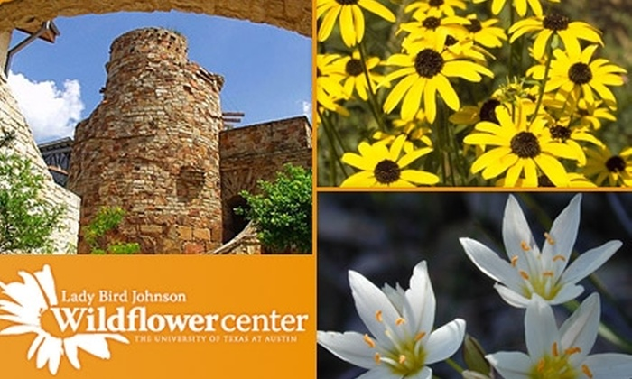 Lady Bird Johnson Wildflower Center - San Antonio: $32 for a One-Year Family Membership to the Lady Bird Johnson Wildflower Center ($65 Value)