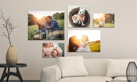 .99 for a Personalised Landscape Canvas Print Don't Pay Up to $289