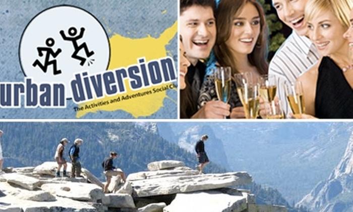 Urban Diversion - San Francisco: $79 for 3-Month Platinum Membership to Urban Diversion & a  Ticket to Polk Street Pub Crawl