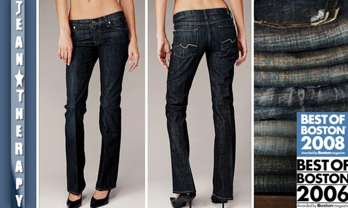 Jean Therapy - Fenway/Kenmore: $50 for $125 Worth of Designer Denim at Jean Therapy