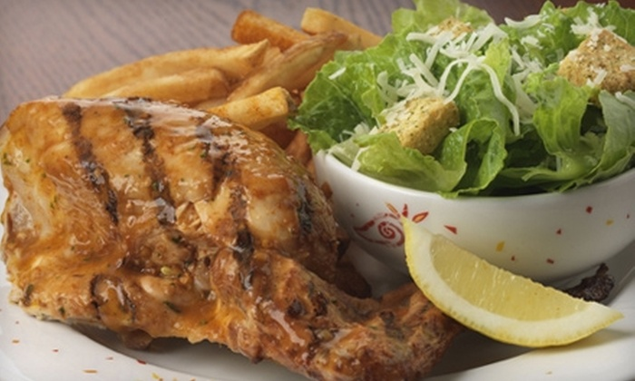 Nando's Flame-Grilled Chicken Victoria - Multiple Locations: $10 for $20 Worth of Afro-Portuguese Fare at Nando's Flame-Grilled Chicken. Choose Between Two Locations.
