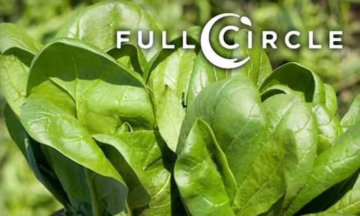 Full Circle - Anchorage: $22 for $45 Toward Purchase of Standard Organic Produce Box with Delivery or Pick-Up Option from Full Circle