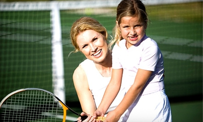 Eastside Tennis & Fitness Club - Finney: Tennis Classes for Adults or Children at Eastside Tennis & Fitness Club. Four Options Available.