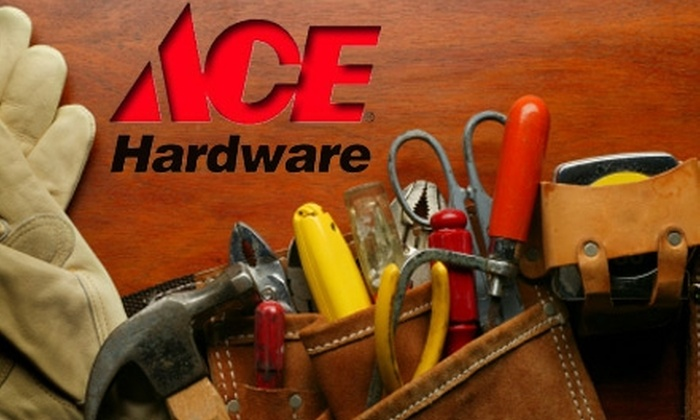 Ace Hardware Greensboro - Shannon Woods: $10 for $20 Worth of Supplies at Ace Hardware