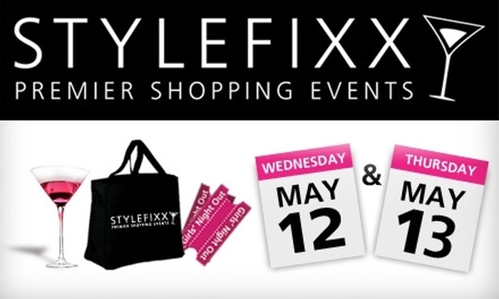 Style Fixx Girls' Night Out - South End: $18 Ticket to StyleFixx Girls' Night Out on May 12 or 13
