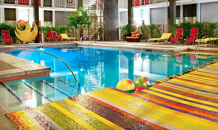 The Clarendon Hotel - Encanto: One-Night Stay for Up to Four in a Deluxe Room, Junior Suite, or Pool-View Suite at The Clarendon Hotel in Phoenix