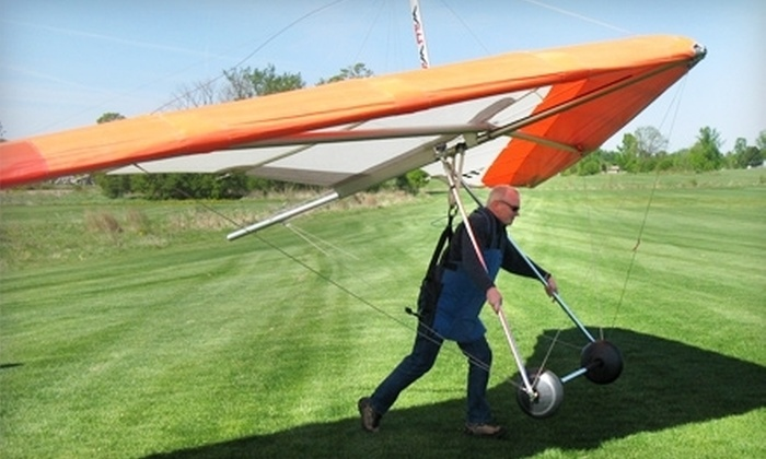 Instinct Windsports - St. Jacobs: $149 for Hang Gliding 101 Package at Instinct Windsports ($361.60 Value)