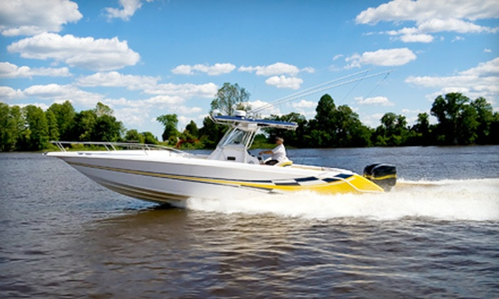Making Waves Boat Club - Multiple Locations: $149 for Five-Hour Rental of Ski Boat, Pontoon, or Deck Boat at Making Waves Boat Club in Lewisville (Up to $500 Value)