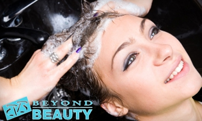 Beyond Beauty - Multiple Locations: $25 for $60 Worth of Salon Services at Beyond Beauty