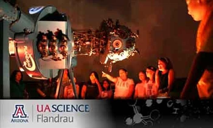 UA Science: Flandrau - Ward 6: $50 for a One-Year Family Membership to UA Science: Flandrau ($100 Value)
