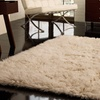 nuLOOM Natural Greek Flokati Rug
