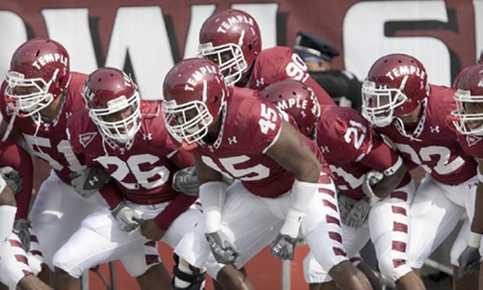 Temple Owls - Fairmount/Art Museum: One Ticket to See Temple Owls Football Game Versus Toledo Rockets at Lincoln Financial Field on October 1 at 12 p.m. ($24.50 Value)