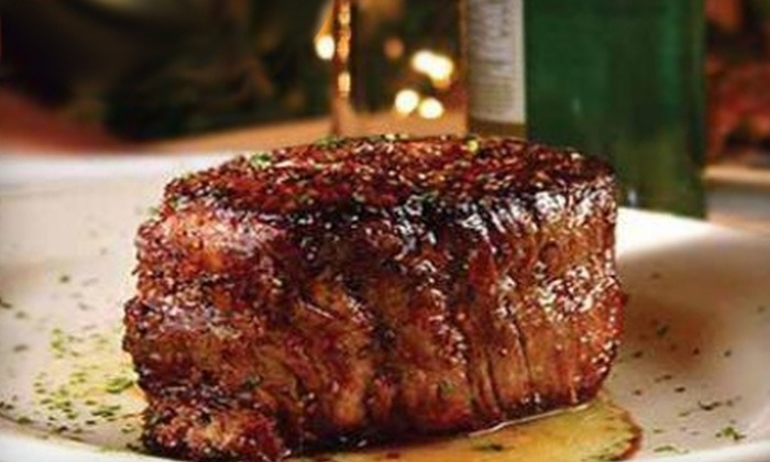 Prime Time Steakhouse - Houston: $20 for $40 Worth of Gourmet Steak and More at Prime Time Steakhouse