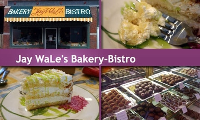 Jay WaLe's Bakery-Bistro - Riverview: $8 for $16 Worth of Baked Goods at Jay WaLe's Bakery