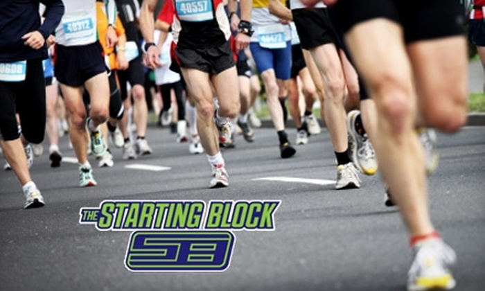 The Starting Block - Springfield: $25 for $50 Worth of Running Shoes and Fitness Clothing at The Starting Block