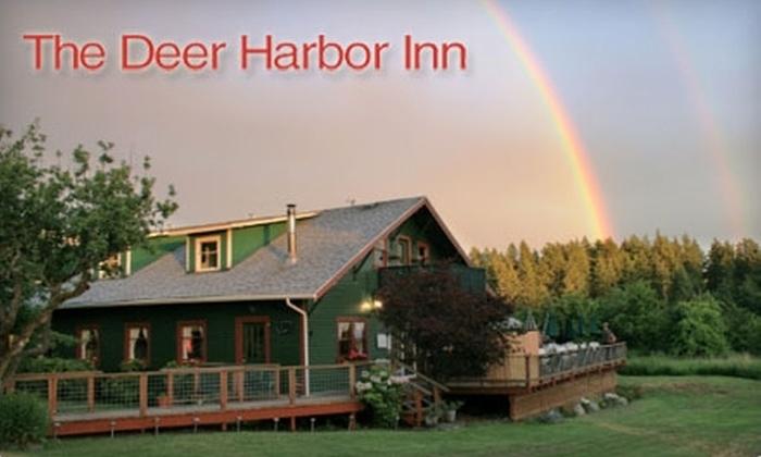 Deer Harbor Inn - Orcas: $69 for One Night Stay and $10 Restaurant Credit at Deer Harbor Inn