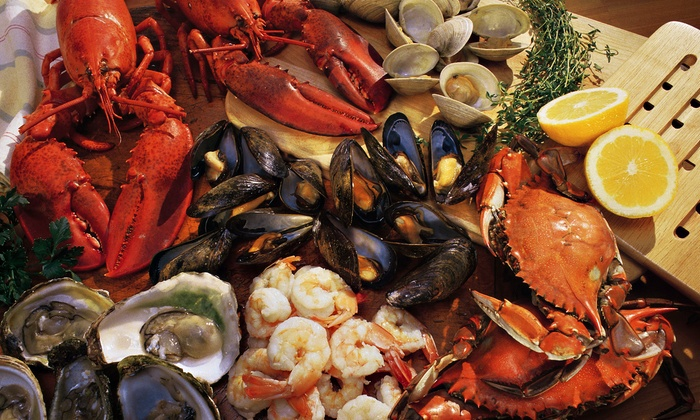 Cy's King Crab Oyster Bar & Grill - Central Chicago: $27 for Dinner for Two at Cy's King Crab Oyster Bar & Grill ($49.85 Value)