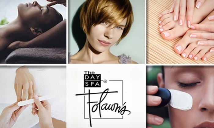 Day Spa at Folawn's - San Antonio: $80 Complete Spa Package, Including Mani-Pedi, Massage, Facial, Shampoo, Styling, and Blow-Dry from The Day Spa at Folawn's