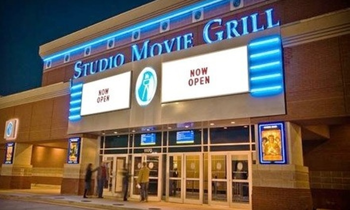 Studio Movie Grill - Multiple Locations: $5 for Movie Outing with Soda at Studio Movie Grill (Up to $12.74 Value)