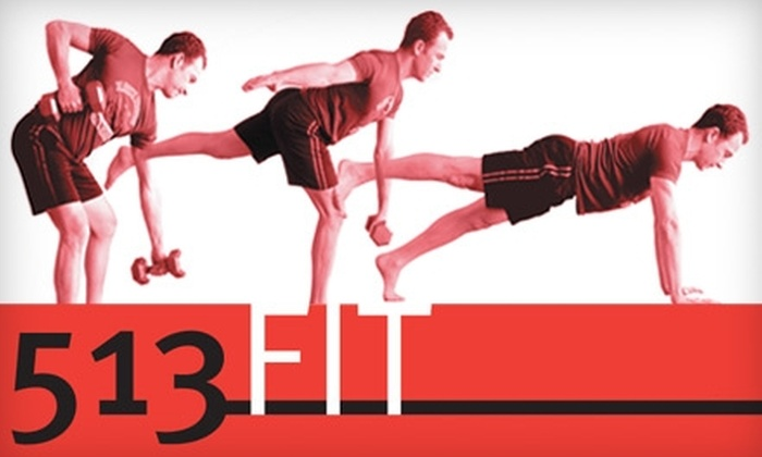 513Fit - Madisonville: $50 for One Month of Unlimited Boot Camp and Pilates Classes at 513Fit