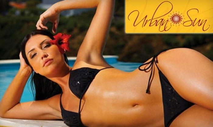 Urban Sun Tan Spa - Nashville: $16 for Two Spray Tans or 10 UV Tans at Urban Sun Tan Spa ($40 Value)