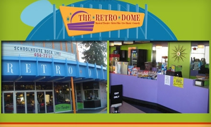 The Retro Dome - San Jose: $10 for Two Tickets to Any Movie at The Retro Dome ($20 Value)