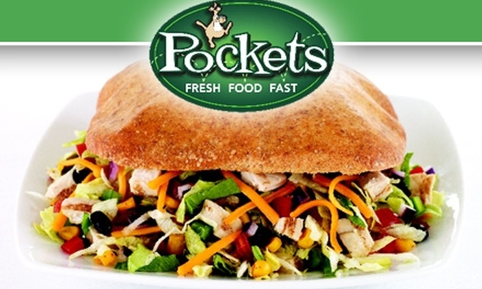 Pockets  - Chicago: $5 for $10 Worth of Fresh Salads, Calzones, and More at Pockets