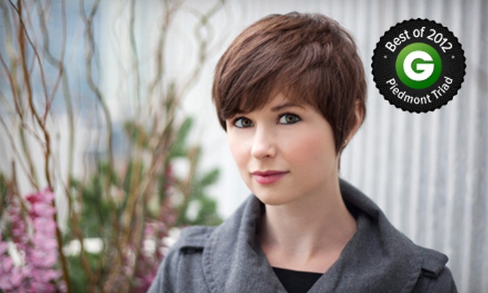 Strands Salon & Spa - Winston-Salem: Haircut and Conditioning with Option for Full Highlights or Single-Process Color at Strands Salon & Spa (Up to 68% Off)