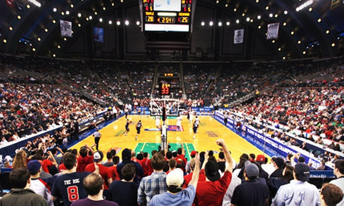 Atlantic 10 Men's Basketball Championship Final Round - Boardwalk Hall: One Ticket to A-10 Men's Basketball Championship Final Round in Atlantic City on March 11 (Up to $51 Value)