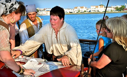 1-Hour Pirate Cruise for 2 (an $84 value) - Dark Star Pirate Cruises in Wildwood Crest