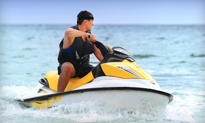 Clearwater Jet Ski & Parasail - Sand Key: One-Hour Tandem-Kayak Rental or Half- or One-Hour Jet-Ski Rental from Clearwater Jet Ski & Parasail (Up to 54% Off)