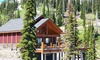 Mountain Lodge in Canadian Rockies