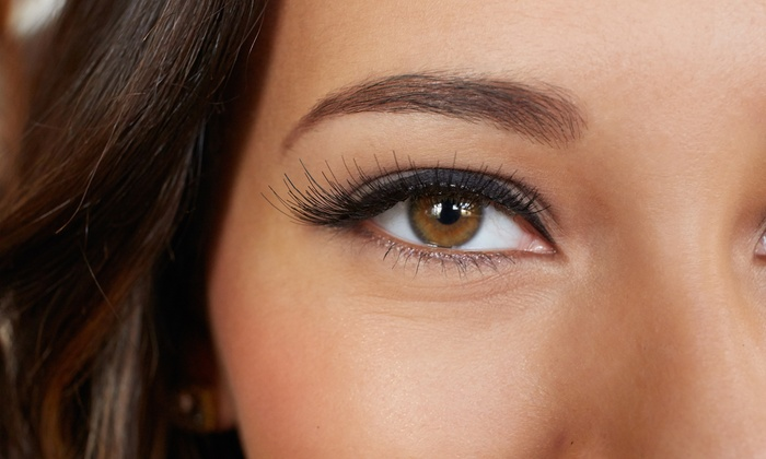 V Boutique & Salon - V Boutique & Salon: Full Set of Silk or Mink Eyelash Extensions with Optional Two-Week Fill at V Boutique & Salon (Up to 61% Off)