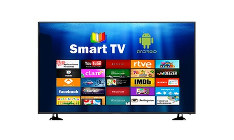 Televisión LED de 50 o 55'' con resolución 4K y Smart TV