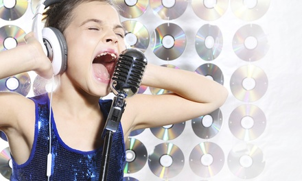 Two-Hour Recording Party for Up to 8 at My Pop Star Party (49% Off)