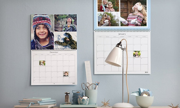 MyPublisher Custom Photo Wall Calendars: One, Two, or Three Custom Photo Wall Calendars from MyPublisher (Up to 62% Off). Free Shipping.